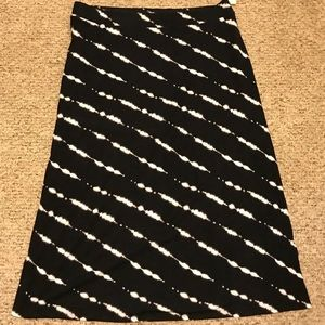NWT Patterned stretch Sonoma Maxi skirt - 1X